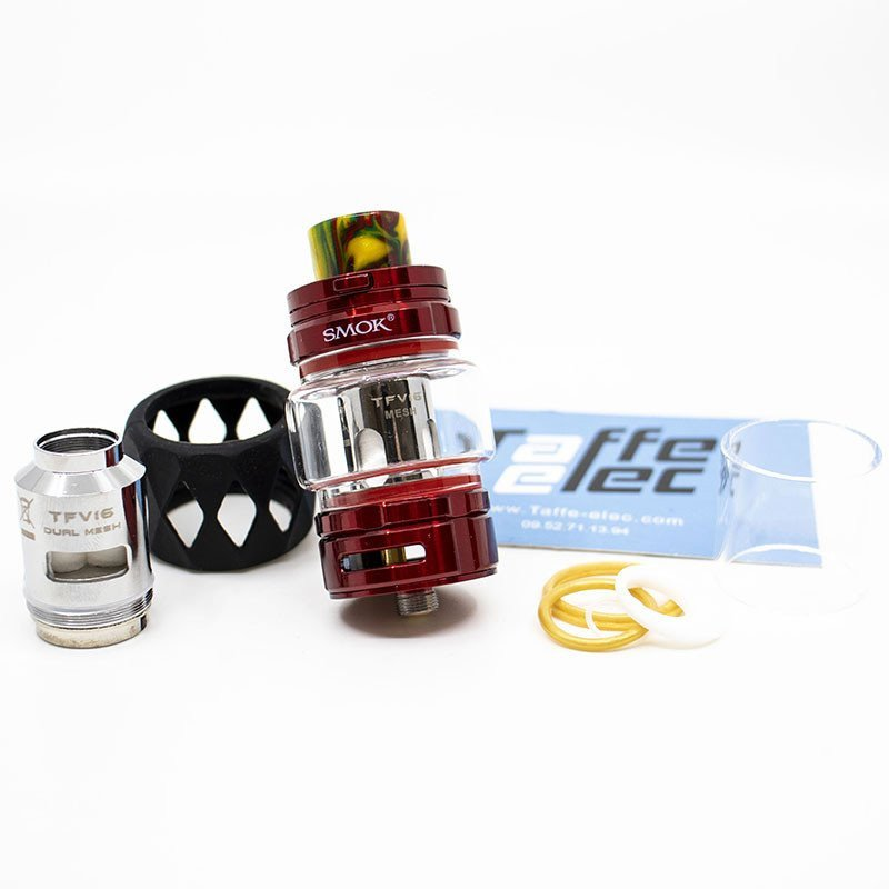 Clearomiseur TFV16 - Smok rouge