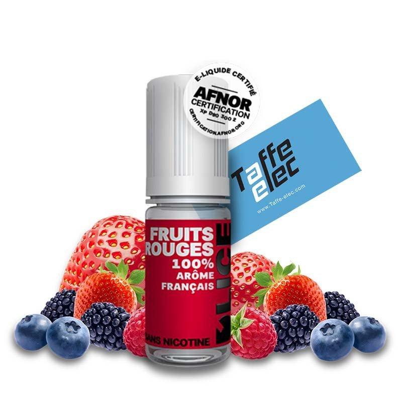 E liquide Fruits Rouges - Dlice