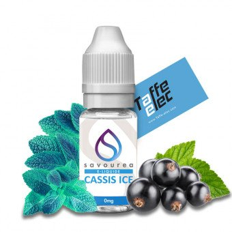 E liquide Cassis Ice - Savourea 12 mg DLUO