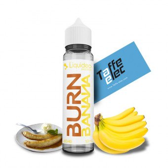 E-liquide Burn Banana 50ml - Liquideo