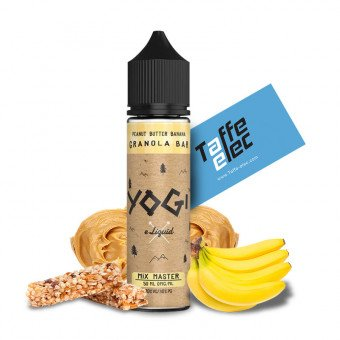 E-liquide Peanut Butter banana Granola Bar 50 ml - Yogi