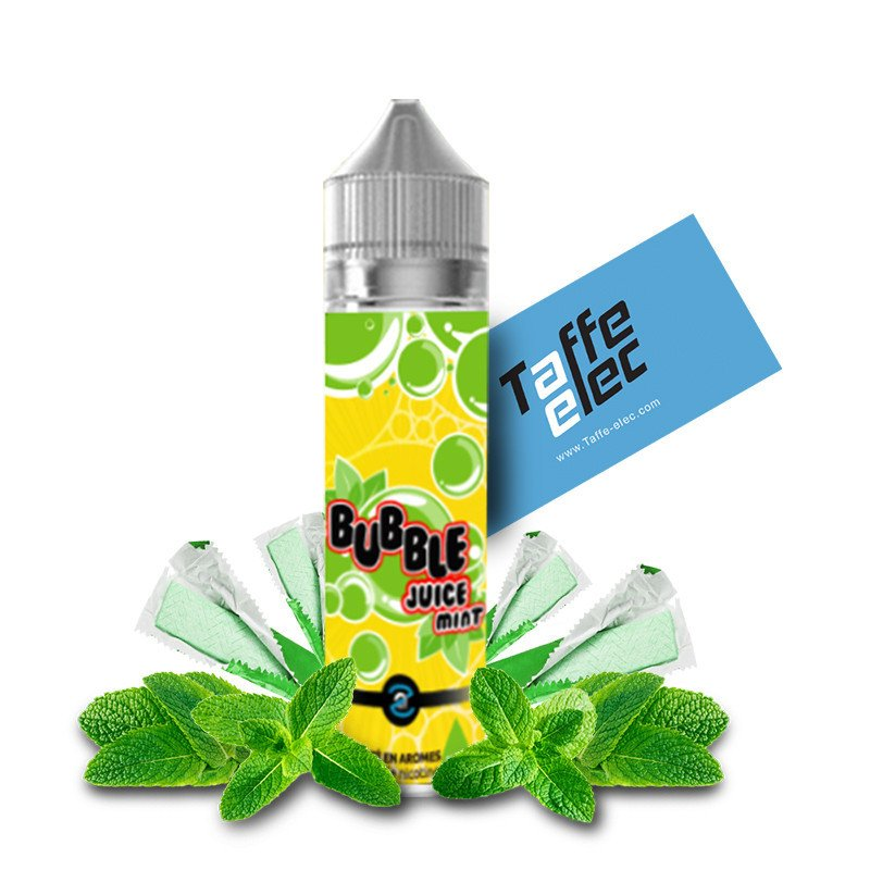 E-liquide Bubble Juice Mint 50ml - Aromazon