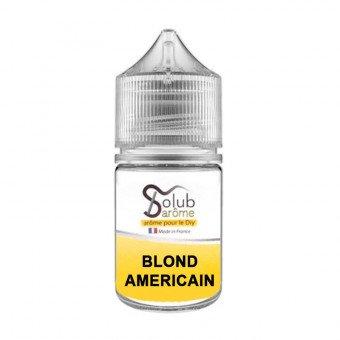 Arôme Blond Américain 30 ml - Solubarôme