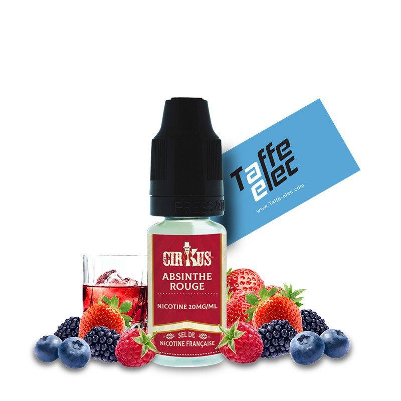 E-liquide Absinthe Rouge - Sels de nicotine CirKus
