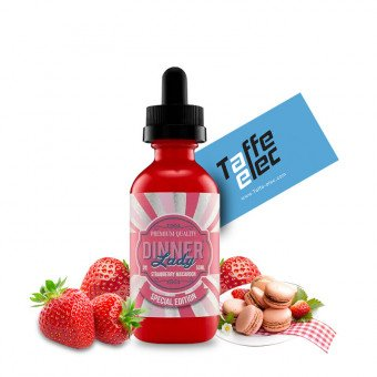 E liquide Strawberry Macaroon Desserts 50 ml - Dinner Lady