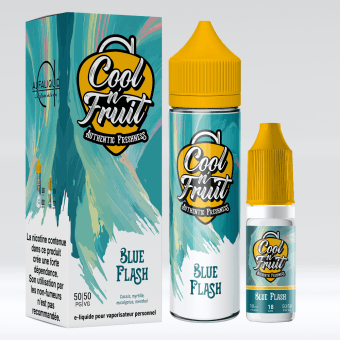 E-liquide Blue Flash 60ml - Cool n'Fruit - Alfaliquid