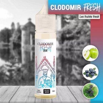 E liquide Clodomir Fresh 50 ml - 814
