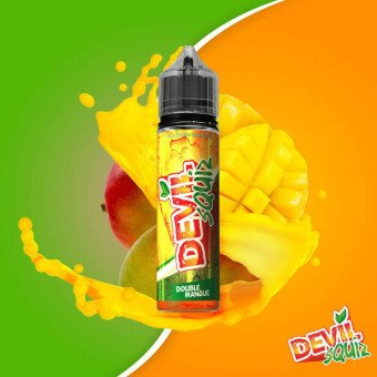 E liquide Double Mangue 50ml - Devil Squiz - Avap