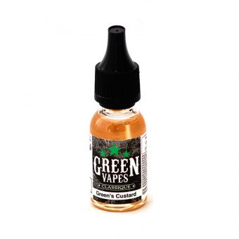 E-liquide Green's Custard - Green Vapes