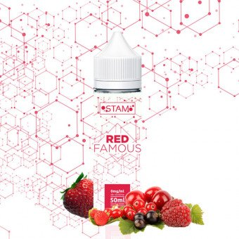 E liquide Red Famous 50 ml - Stam - Aromazon