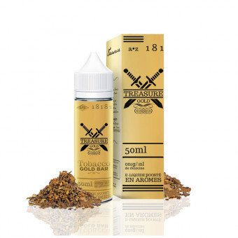 E liquide Tobacco Gold 50 ml - Treasure Gold - Aromazon