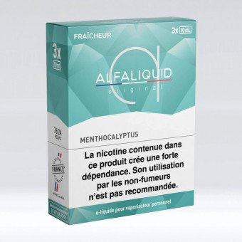 E-liquide Menthocalyptus Tripack 30 ml - Alfaliquid