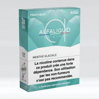 E-liquide Menthe Glaciale Tripack 30 ml - Alfaliquid
