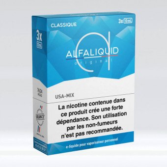 E-liquide USA-Mix Tripack 30 ml - Alfaliquid