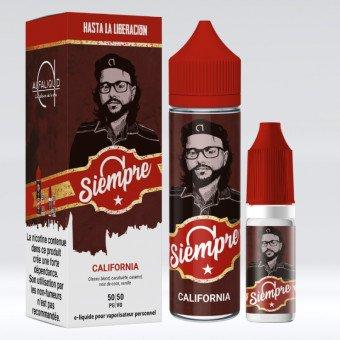 E-liquide California 60ml - Alfa Siempre - Alfaliquid