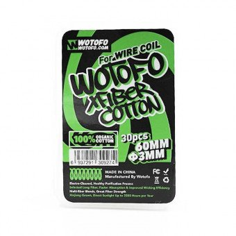 Coton Xfiber Wirecoil (x30) - Wotofo