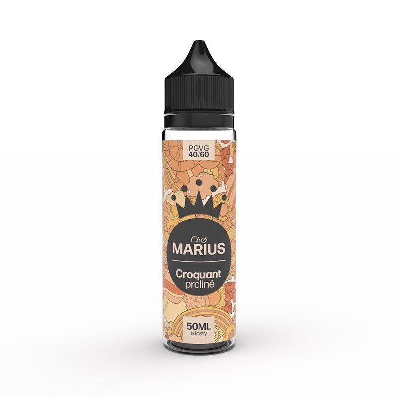 E-liquide Croquant Praliné 50 ml - Chez Marius - E.Tasty
