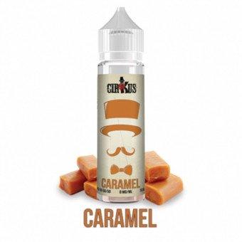 E-liquide Caramel 50ml - Cirkus Authentic VDLV