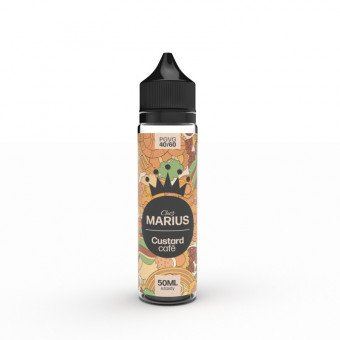 E-liquide Custard Café 50 ml - Chez Marius - E.Tasty