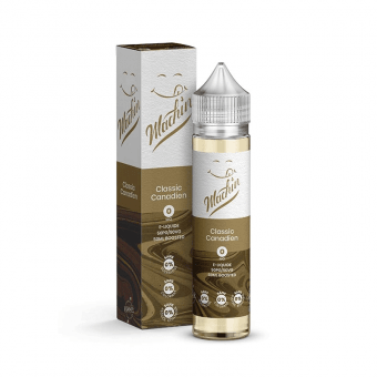 E-liquide Classic Canadien 50ml - Machin - Savourea