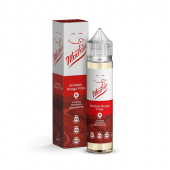E-liquide Bonbon Rouge Frais 50 ml - Machin - Savourea