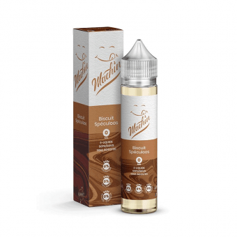 E-liquide Biscuit Speculoos 50 ml - Machin - Savourea