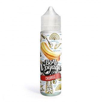 E-liquide Churros 50ml - Bon Voyage - Le Coq Qui Vape