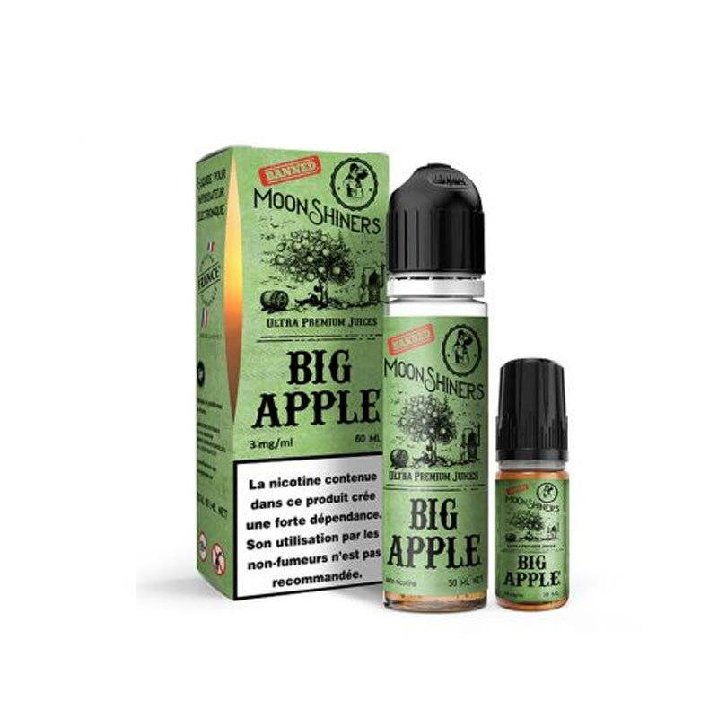 E-liquide Big Apple Moonshiners 60ml - Le French Liquide