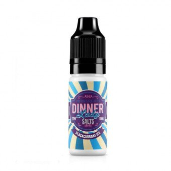 E-liquide Blackcurrant Ice 10 ml Sels de nicotine - Dinner Lady