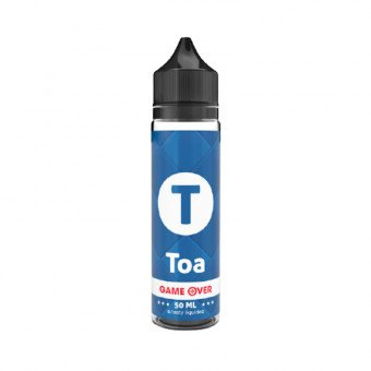 E-liquide Toa 50 ml - Game Over - E.tasty