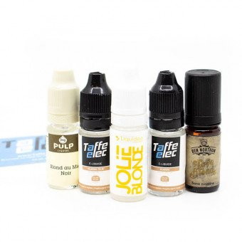 E-liquides Blond en pack (x5)