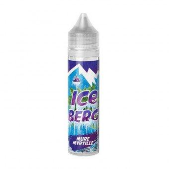 E-liquide Mûre Myrtille 50 ml - Iceberg - O'Juicy