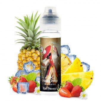 E-liquide Red Pineapple 50ml - Hidden Potion by Arômes et Liquides