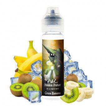 E-liquide Green Banana 50ml - Hidden Potion by Arômes et Liquides