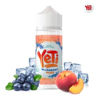 E-liquide Ice Cold Blueberry Peach 100ml - Yeti