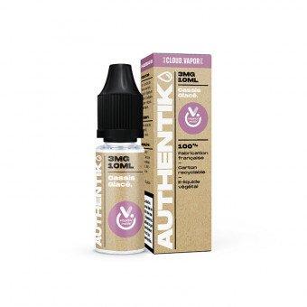 E-liquide Cassis Glacé 10 ml - Authentik - Cloud Vapor