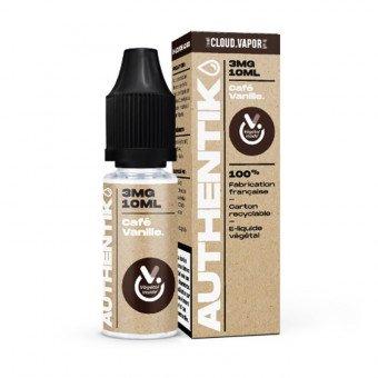 E-liquide Café Vanille - Authentik - Cloud Vapor