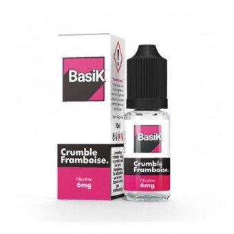 E-liquide Crumble Framboise - BasiK - Cloud Vapor