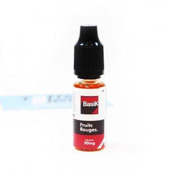 E-liquide Fruits Rouges Nic Salt - BasiK - Cloud Vapor