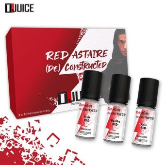 Arôme deconstructed Red Astaire de Tjuice