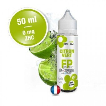 E-liquide Citron Vert 50ml - Rebel Flavour Power