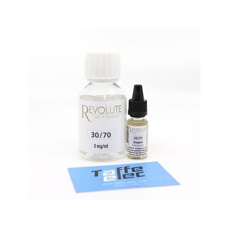 Pack DIY avec nicotine 100 ml 30/70 - Revolute