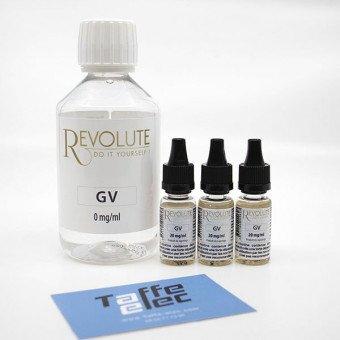 Pack DIY avec nicotine - 200ml 100%VG -  Revolute