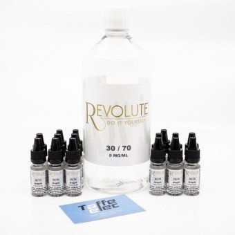 Pack DIY 1 Litre 30/70 - avec nicotine - Revolute  - 1