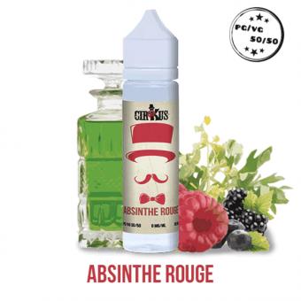 liquide absinthe rouge de cirkus en 50ml