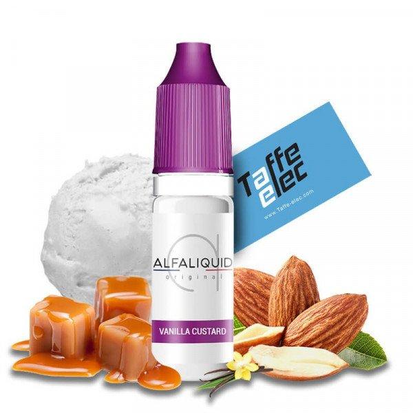 E liquide Vanilla Custard - Alfaliquid