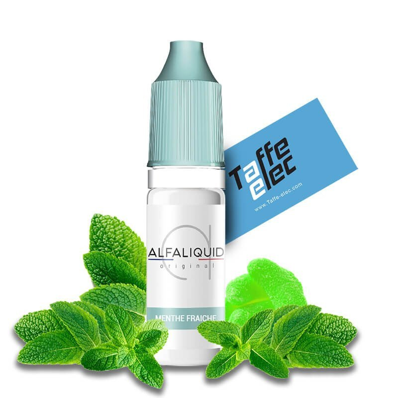E liquide Menthe Fraîche - Alfaliquid
