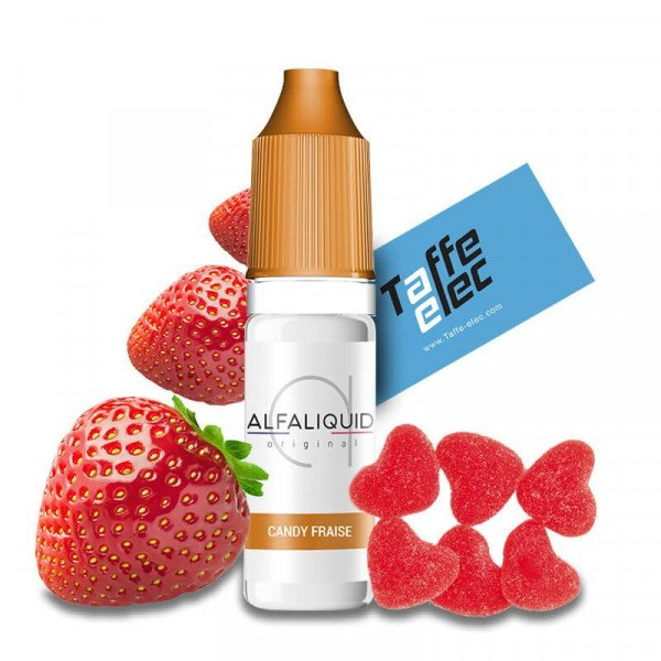 E liquide Candy fraise - Alfaliquid