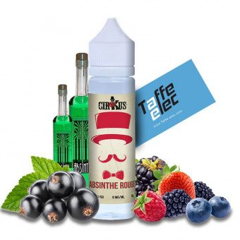 E-liquide Absinthe Rouge 50ml - CirKus Authentic