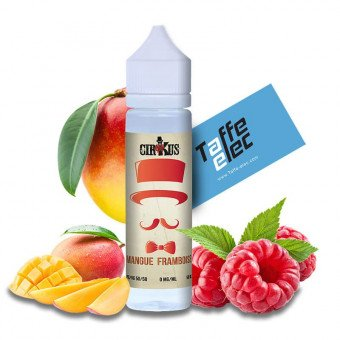 E-liquide Mangue Framboise 50ml - CirKus Authentic
